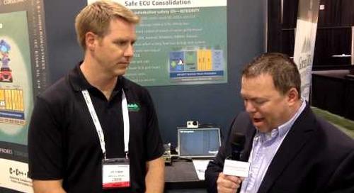 TU-Automotive Detroit – Interview with Joe Fabbre, Green Hills Software