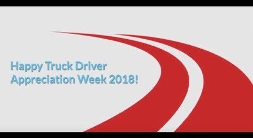 National Truck Driver Appreciation Week 2018