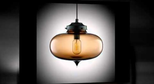 Chocolate Modern Pendant Lighting