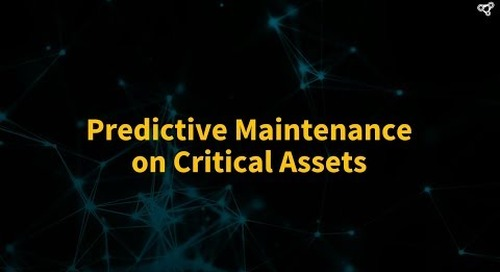 Predictive Maintenance on Critical Assets