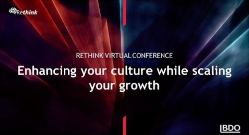 Enhancing your culture while scaling your growth | BDO Canada