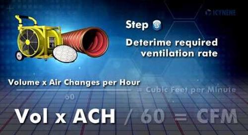 Icynene Spray Foam Insulation: Ventilation Requirements