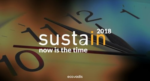 Sustain 2018 Recap - Now is The Time