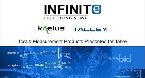 Webinar: Kaelus   Test and Measurement Products