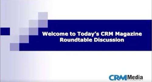 Accelerate Sales on Salesforce: CRM Magazine Roundtable