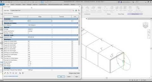 Standardizing Out of the box and Manufacturer Revit Families