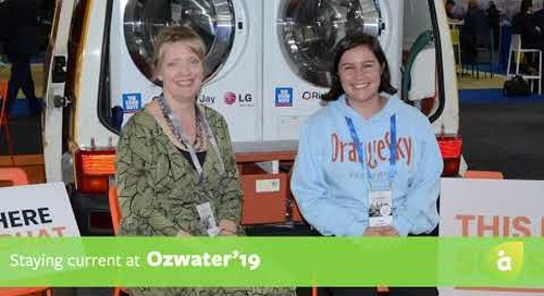 Staying current at Ozwater'19 with Ella Westblade