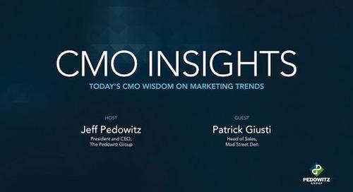CMO Insights: Patrick Giusti, Vue.ai, Mad Street Den