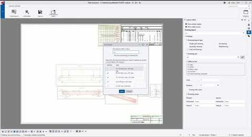 Complete visual drawing layout editor (precast) - Tekla Structures 2020