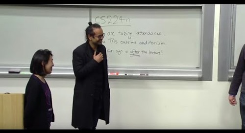 Stanford CS224N: NLP with Deep Learning | Winter 2019 | Lecture 14 – Transformers and Self-Attention