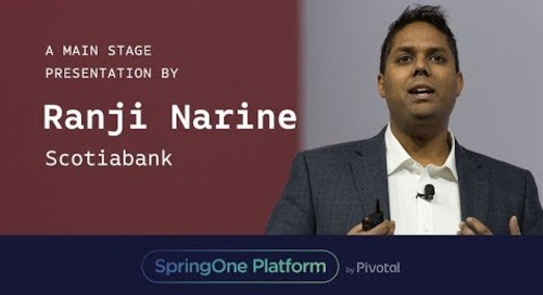 Ranji Narine, Scotiabank at SpringOne Platform 2017