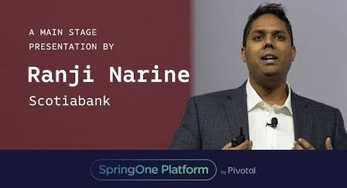 Ranji Narine at SpringOne Platform 2017