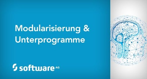 Modularisierung & Unterprogramme