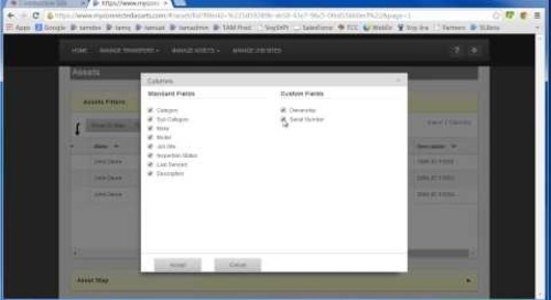 Trimble Asset Manager: Using Search Filters