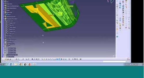 Zone-Based Design with CATIA Composites Workbench