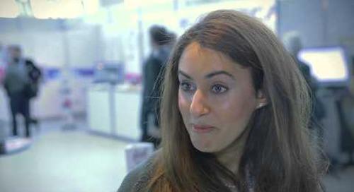 Dr Sarah Sadek - Testimonial from Conference in Harpa Reykjavik Iceland - EOS 2013