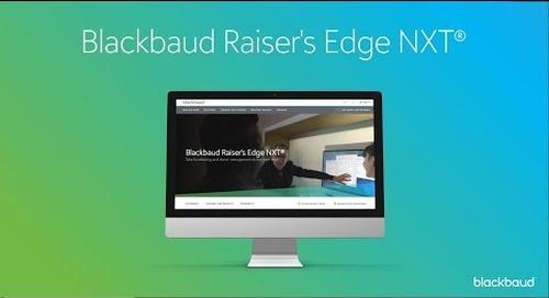 Raiser's Edge NXT Snapshot Overview