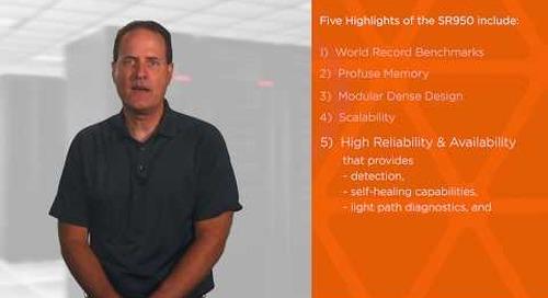 Five Highlights of the Lenovo ThinkSystem SR950