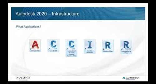 What's New in AEC Collection for Infrastructure