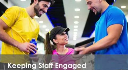 Webinar: Tips for Keeping Staff Engaged