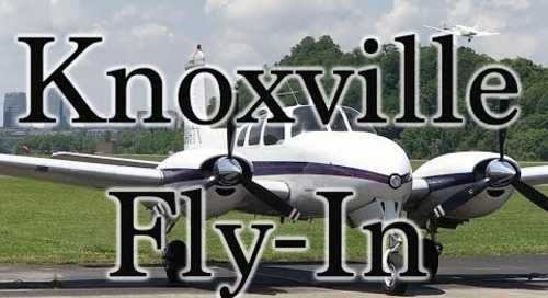Knoxville Fly-In in a Bonanza