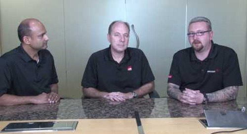 Emulex ExpressLane QoS demo using Emulex FC adapters and Brocade FC switches