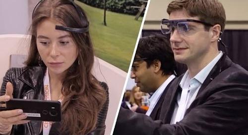Eyetracking & Brainwave-Measuring Brain Lab At Dx3 2016