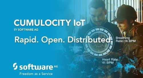 CUMULOCITY IoT: Rapid. Open. Distributed.