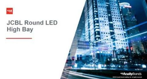 JCBL LED High Bay from Lithonia Lighting® - Acuity Brands