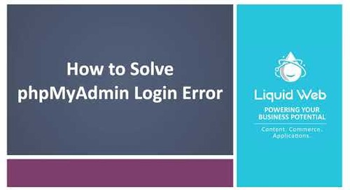 "Solved: ""Login without a password is forbidden by configuration (see AllowNoPassword)"" in PhpMyAdmin"