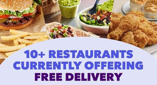 A Guide to Free Restaurant Delivery During COVID-19
