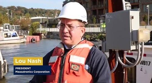 Case study: Tappan Zee bridge Deconstruction with Trimble Marine Construction systems