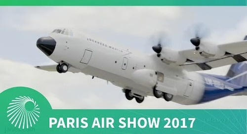 Paris Air Show 2017: Lockheed Martin's civilian Hercules, the LM-100J