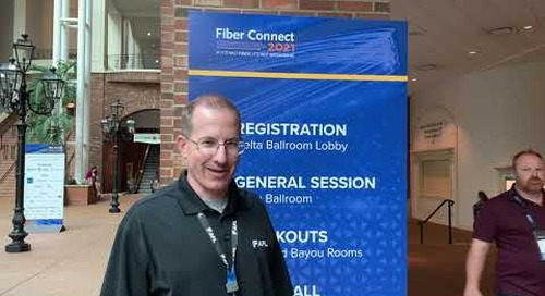 FiberConnect 2021 in Nashville. Booth #930