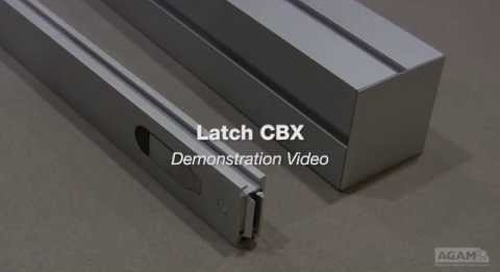 Latch CBX Demonstration Reference: 330 LATCH