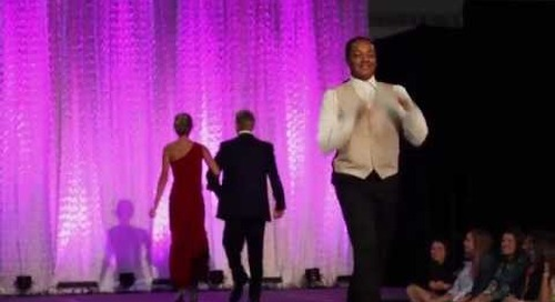 BJ Goliday and Models Dancing During Fashion Show