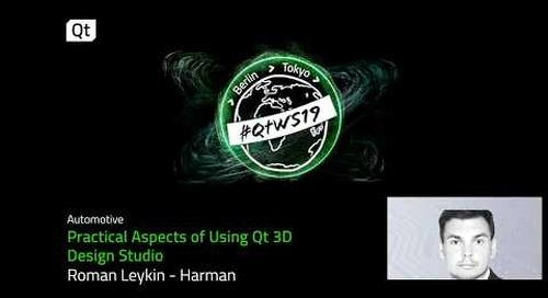 Explore the features of Qt 3D Design Studio