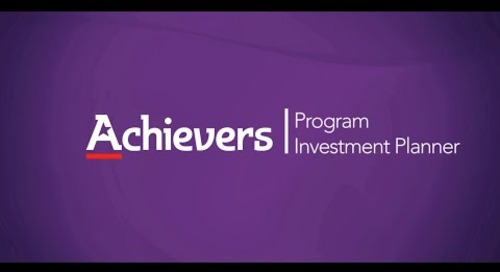 Achievers Program Investment Planner