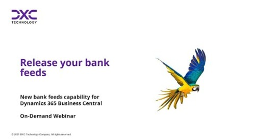 Discover new bank feeds capability in Microsoft Dynamics 365 Business Central