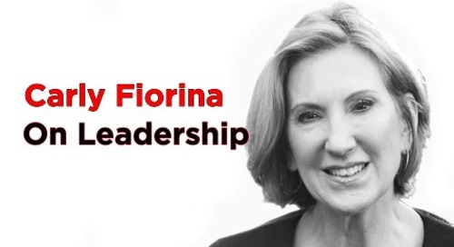Don't Focus on a Single Destination | Carly Fiorina | FranklinCovey clip