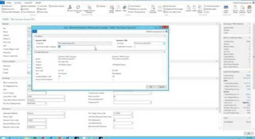 NAV 2016 Integration to Dynamics CRM - Concept of Coupling and Setup of Coupling