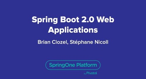Spring Boot 2.0 Web Applications