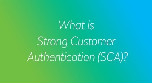 What does Strong Customer Authentication mean?