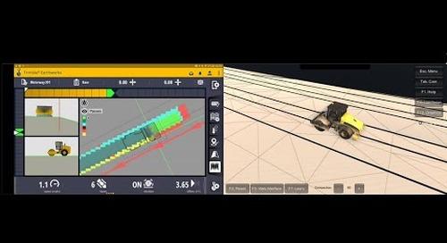 Trimble Earthworks Grade Control Platform for Soil Compactors - Overview