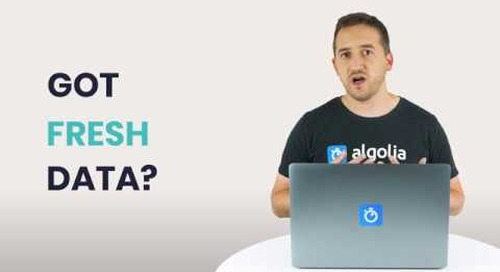 Algolia Build 101 - Data Sync