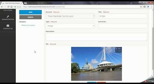 Travel Manitoba Partner Extranet 4.0 - Media