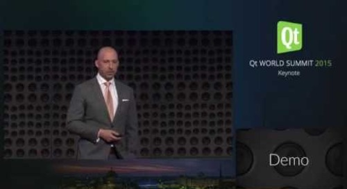 Holoplot – Using Qt to Create a Cross Target Audio 3D Audio Wall, Andreas Schmid, Till Adam @QtWS15