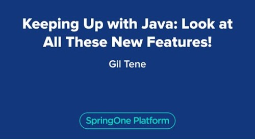 Keeping Up with Java: Look at All These New Features!
