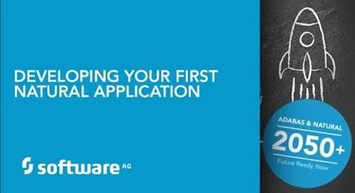 Your First Natural Application