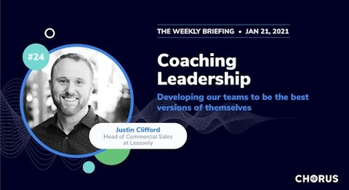 The Weekly Briefing: 4 2021 Predictions: Coaching, Leadership & Developing Sales Teams for Growth